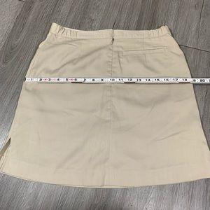 Cutter & Buck Shorts - Cutter & Buck Khaki Skort size 6